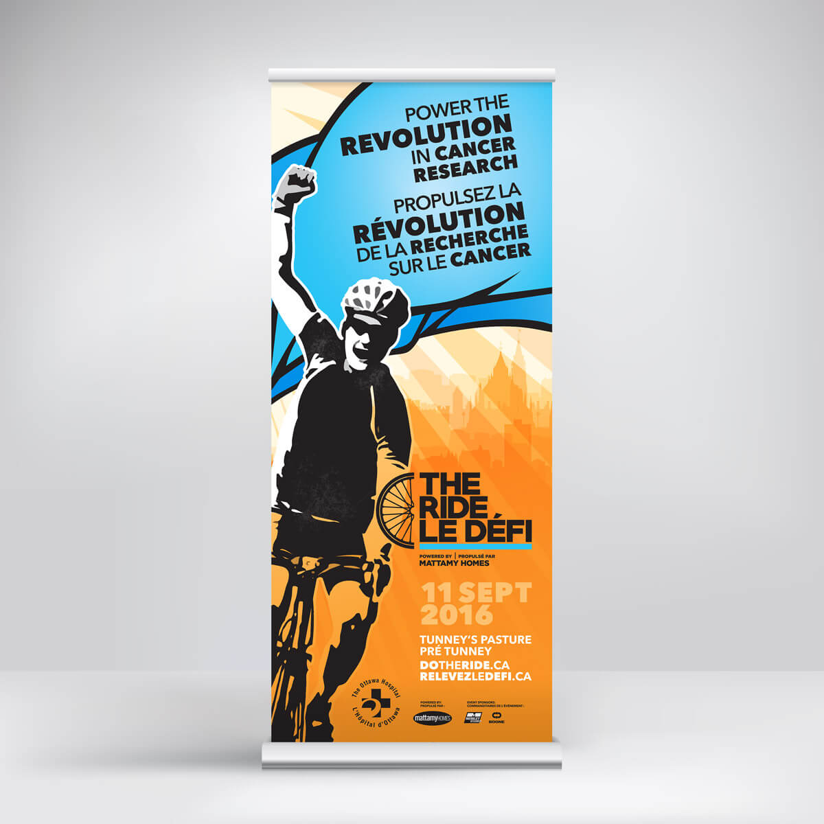 OHF The Ride banner